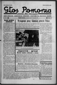 """Głos Pomorza : dawniej """"Głos Wąbrzeski"""" : pismo społeczne, gospodarcze, oświatowe i polityczne dla wszystkich stanów 1937.09.23, R. 19[!], nr 110"""