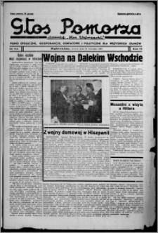 """Głos Pomorza : dawniej """"Głos Wąbrzeski"""" : pismo społeczne, gospodarcze, oświatowe i polityczne dla wszystkich stanów 1937.09.28, R. 19[!], nr 112"""