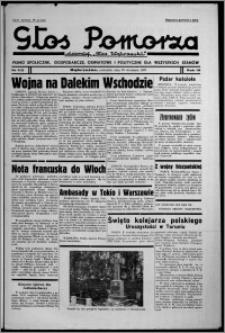 """Głos Pomorza : dawniej """"Głos Wąbrzeski"""" : pismo społeczne, gospodarcze, oświatowe i polityczne dla wszystkich stanów 1937.09.30, R. 19[!], nr 113"""