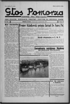 """Głos Pomorza : dawniej """"Głos Wąbrzeski"""" : pismo społeczne, gospodarcze, oświatowe i polityczne dla wszystkich stanów 1937.10.04 [i.e. 1937.10.05], R. 19[!], nr 115"""