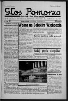 """Głos Pomorza : dawniej """"Głos Wąbrzeski"""" : pismo społeczne, gospodarcze, oświatowe i polityczne dla wszystkich stanów 1937.10.07, R. 19[!], nr 116"""