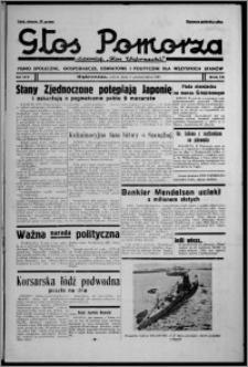 """Głos Pomorza : dawniej """"Głos Wąbrzeski"""" : pismo społeczne, gospodarcze, oświatowe i polityczne dla wszystkich stanów 1937.10.09, R. 19[!], nr 117 + Niedziela nr 40"""
