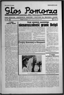 """Głos Pomorza : dawniej """"Głos Wąbrzeski"""" : pismo społeczne, gospodarcze, oświatowe i polityczne dla wszystkich stanów 1937.10.16, R. 19[!], nr 120 + Niedziela nr 41"""