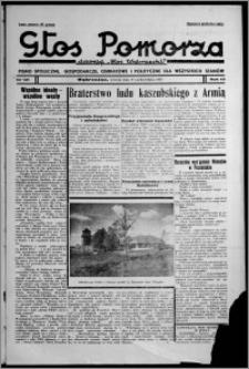 """Głos Pomorza : dawniej """"Głos Wąbrzeski"""" : pismo społeczne, gospodarcze, oświatowe i polityczne dla wszystkich stanów 1937.10.19, R. 19[!], nr 121"""