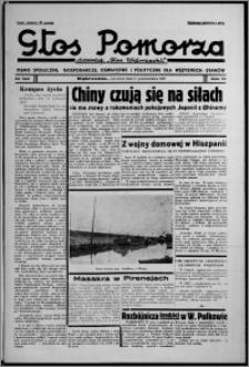 """Głos Pomorza : dawniej """"Głos Wąbrzeski"""" : pismo społeczne, gospodarcze, oświatowe i polityczne dla wszystkich stanów 1937.10.21, R. 19[!], nr 122"""