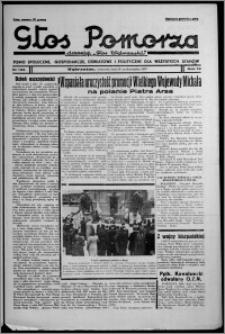 """Głos Pomorza : dawniej """"Głos Wąbrzeski"""" : pismo społeczne, gospodarcze, oświatowe i polityczne dla wszystkich stanów 1937.10.28, R. 19[!], nr 125"""