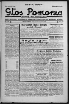 """Głos Pomorza : dawniej """"Głos Wąbrzeski"""" : pismo społeczne, gospodarcze, oświatowe i polityczne dla wszystkich stanów 1937.10.30, R. 19[!], nr 126 + Niedziela nr 43"""