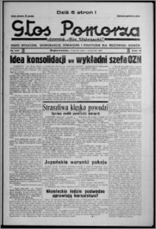 """Głos Pomorza : dawniej """"Głos Wąbrzeski"""" : pismo społeczne, gospodarcze, oświatowe i polityczne dla wszystkich stanów 1937.11.04, R. 19[!], nr 127"""