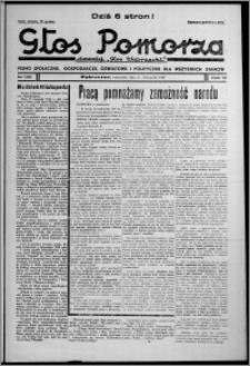 """Głos Pomorza : dawniej """"Głos Wąbrzeski"""" : pismo społeczne, gospodarcze, oświatowe i polityczne dla wszystkich stanów 1937.11.11, R. 19[!], nr 130"""