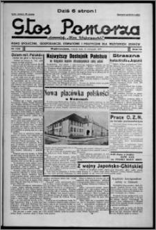 """Głos Pomorza : dawniej """"Głos Wąbrzeski"""" : pismo społeczne, gospodarcze, oświatowe i polityczne dla wszystkich stanów 1937.11.16, R. 19[!], nr 132"""