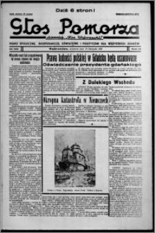 """Głos Pomorza : dawniej """"Głos Wąbrzeski"""" : pismo społeczne, gospodarcze, oświatowe i polityczne dla wszystkich stanów 1937.11.18, R. 19[!], nr 133"""