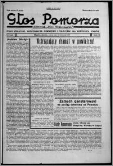 """Głos Pomorza : dawniej """"Głos Wąbrzeski"""" : pismo społeczne, gospodarcze, oświatowe i polityczne dla wszystkich stanów 1937.11.20, R. 19[!], nr 134 + Niedziela nr 46"""
