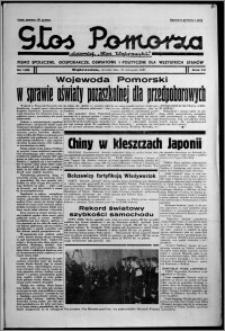 """Głos Pomorza : dawniej """"Głos Wąbrzeski"""" : pismo społeczne, gospodarcze, oświatowe i polityczne dla wszystkich stanów 1937.11.23, R. 19[!], nr 135"""