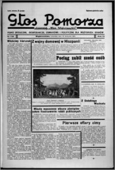 """Głos Pomorza : dawniej """"Głos Wąbrzeski"""" : pismo społeczne, gospodarcze, oświatowe i polityczne dla wszystkich stanów 1937.11.25, R. 19[!], nr 136"""