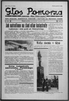 """Głos Pomorza : dawniej """"Głos Wąbrzeski"""" : pismo społeczne, gospodarcze, oświatowe i polityczne dla wszystkich stanów 1937.12.02, R. 19[!], nr 139"""