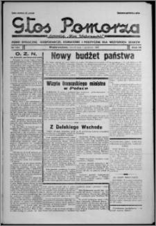 """Głos Pomorza : dawniej """"Głos Wąbrzeski"""" : pismo społeczne, gospodarcze, oświatowe i polityczne dla wszystkich stanów 1937.12.07, R. 19[!], nr 141"""