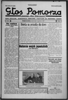 """Głos Pomorza : dawniej """"Głos Wąbrzeski"""" : pismo społeczne, gospodarcze, oświatowe i polityczne dla wszystkich stanów 1937.12.11, R. 19[!], nr 143 + Niedziela nr 49"""