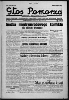 """Głos Pomorza : dawniej """"Głos Wąbrzeski"""" : pismo społeczne, gospodarcze, oświatowe i polityczne dla wszystkich stanów 1937.12.16, R. 19[!], nr 145"""