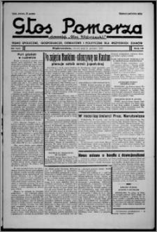 """Głos Pomorza : dawniej """"Głos Wąbrzeski"""" : pismo społeczne, gospodarcze, oświatowe i polityczne dla wszystkich stanów 1937.12.21, R. 19[!], nr 147"""