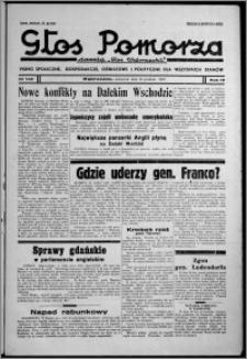 """Głos Pomorza : dawniej """"Głos Wąbrzeski"""" : pismo społeczne, gospodarcze, oświatowe i polityczne dla wszystkich stanów 1937.12.23, R. 19[!], nr 148"""