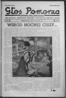 """Głos Pomorza : dawniej """"Głos Wąbrzeski"""" : pismo społeczne, gospodarcze, oświatowe i polityczne dla wszystkich stanów 1937.12.24, R. 19[!], nr 149"""