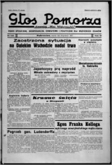"""Głos Pomorza : dawniej """"Głos Wąbrzeski"""" : pismo społeczne, gospodarcze, oświatowe i polityczne dla wszystkich stanów 1937.12.28, R. 19[!], nr 150"""