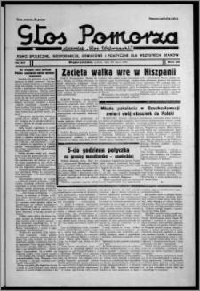 """Głos Pomorza : dawniej """"Głos Wąbrzeski"""" : pismo społeczne, gospodarcze, oświatowe i polityczne dla wszystkich stanów 1938.07.30, R. 20, nr 87"""