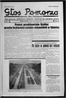 """Głos Pomorza : dawniej """"Głos Wąbrzeski"""" : pismo społeczne, gospodarcze, oświatowe i polityczne dla wszystkich stanów 1938.08.30, R. 20, nr 99"""