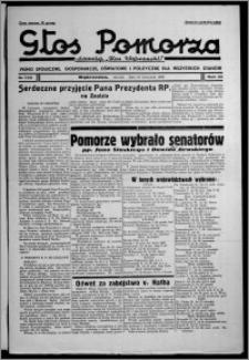 """Głos Pomorza : dawniej """"Głos Wąbrzeski"""" : pismo społeczne, gospodarcze, oświatowe i polityczne dla wszystkich stanów 1938.11.15, R. 20, nr 132"""