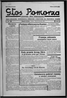 """Głos Pomorza : dawniej """"Głos Wąbrzeski"""" : pismo społeczne, gospodarcze, oświatowe i polityczne dla wszystkich stanów 1938.11.19, R. 20, nr 134"""