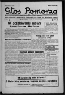"""Głos Pomorza : dawniej """"Głos Wąbrzeski"""" : pismo społeczne, gospodarcze, oświatowe i polityczne dla wszystkich stanów 1939.04.27, R. 21, nr 49"""