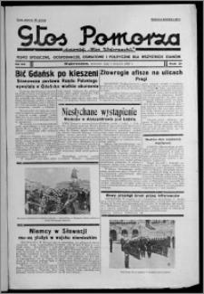 """Głos Pomorza : dawniej """"Głos Wąbrzeski"""" : pismo społeczne, gospodarcze, oświatowe i polityczne dla wszystkich stanów 1939.08.03, R. 21, nr 90"""
