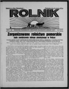 """Rolnik : dodatek poświęcony sprawom rolniczym : organ T.R.P. : dodatek do """"Głosu Wąbrzeskiego"""" 1935.08.29, R. 3[!], nr 25 [i.e. 26]"""