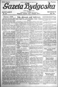 Gazeta Bydgoska 1929.11.07 R.8 nr 257