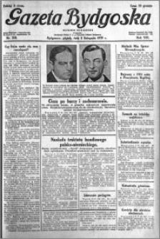 Gazeta Bydgoska 1929.11.08 R.8 nr 258