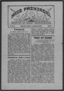 """Nasz Przyjaciel : dodatek do """"Głosu Wąbrzeskiego"""" 1924.10.04, R. 1, nr 32"""
