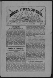 """Nasz Przyjaciel : dodatek do """"Głosu Wąbrzeskiego"""" 1924.10.25, R. 1, nr 35"""