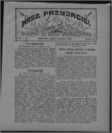 """Nasz Przyjaciel : dodatek do """"Głosu Wąbrzeskiego"""" 1925.01.03, R. 2, nr 1"""