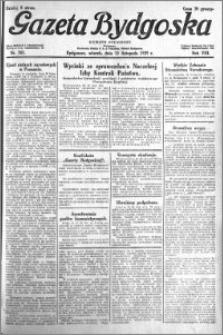 Gazeta Bydgoska 1929.11.12 R.8 nr 261