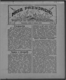 """Nasz Przyjaciel : dodatek do """"Głosu Wąbrzeskiego"""" 1925.01.10, R. 2, nr 2"""