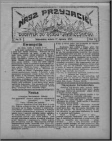 """Nasz Przyjaciel : dodatek do """"Głosu Wąbrzeskiego"""" 1925.01.17, R. 2, nr 3"""