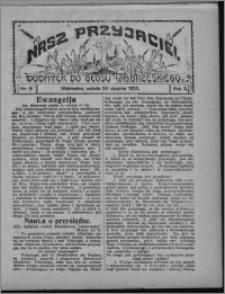 """Nasz Przyjaciel : dodatek do """"Głosu Wąbrzeskiego"""" 1925.01.24, R. 2, nr 4"""