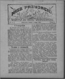 """Nasz Przyjaciel : dodatek do """"Głosu Wąbrzeskiego"""" 1925.02.07, R. 2, nr 6"""