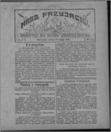 """Nasz Przyjaciel : dodatek do """"Głosu Wąbrzeskiego"""" 1925.02.14, R. 2, nr 7"""