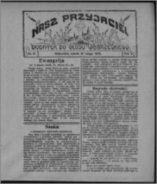 """Nasz Przyjaciel : dodatek do """"Głosu Wąbrzeskiego"""" 1925.02.21, R. 2, nr 8"""