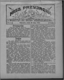"""Nasz Przyjaciel : dodatek do """"Głosu Wąbrzeskiego"""" 1925.02.28, R. 2, nr 9"""