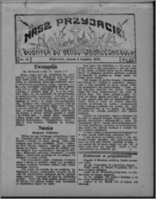 """Nasz Przyjaciel : dodatek do """"Głosu Wąbrzeskiego"""" 1925.04.04, R. 2, nr 14"""