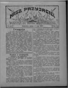 """Nasz Przyjaciel : dodatek do """"Głosu Wąbrzeskiego"""" 1925.05.16, R. 2, nr 20"""