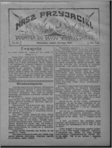 """Nasz Przyjaciel : dodatek do """"Głosu Wąbrzeskiego"""" 1925.05.23, R. 2, nr 21"""