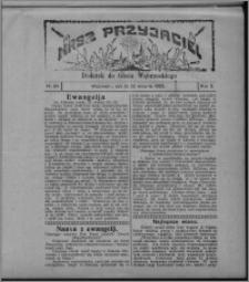 """Nasz Przyjaciel : dodatek do """"Głosu Wąbrzeskiego"""" 1925.08.22, R. 2, nr 34"""
